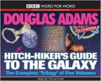 The Hitch-Hiker's Guide to the Galaxy - The Complete Trilogy in 5 Vols written by Douglas Adams performed by Douglas Adams on Cassette (Unabridged)